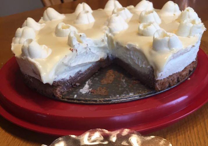 עוגת קרמבו מוס שוקולד לבן