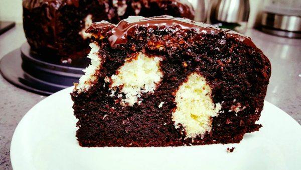 עוגת שוקולד גבוהה וטעימה