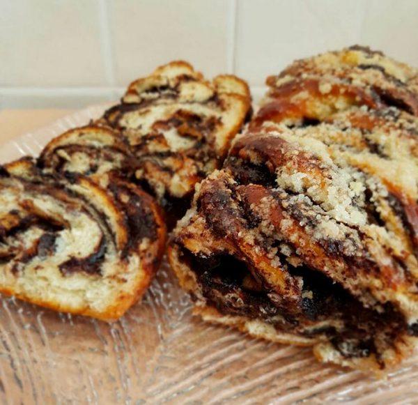 עוגת שמרים על בסיס שמן