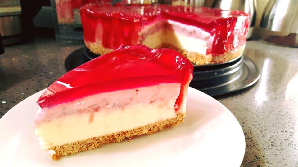 עוגת תותי פרוטי