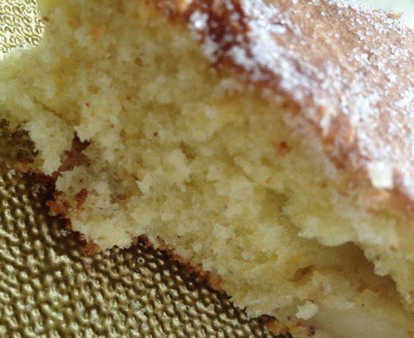 עוגת תפוחים ושקדים