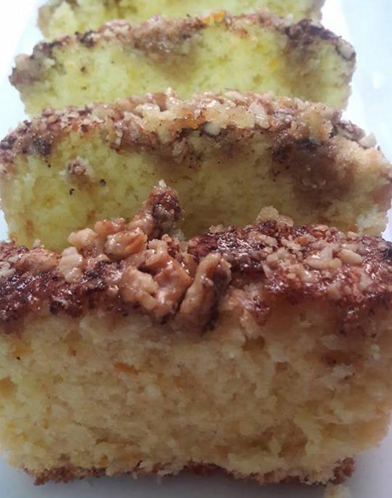 עוגת מייפל ואגוזים טעימה עסיסית וקלה להכנה