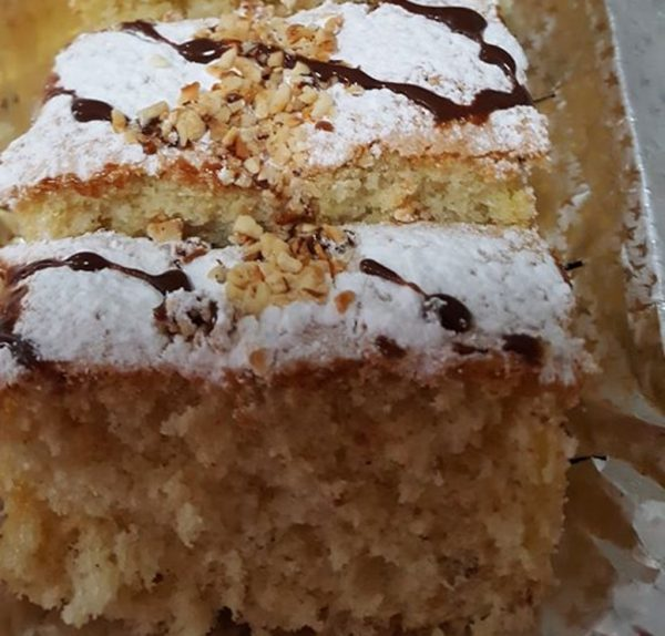 עוגת מנדרינות קוקוס מייפל ואגוזי לוז