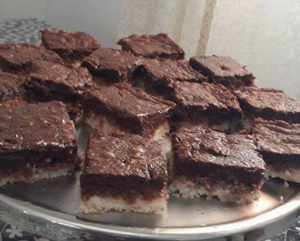 ריבועי שוקולד ונוטלה ללא גלוטן ,כשר לפסח  – מאסטר מתכונים