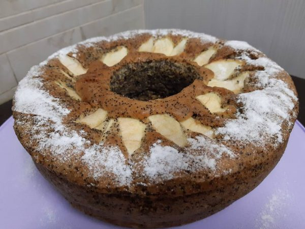 עוגת פרג במילוי,מלית תפוחי עץ