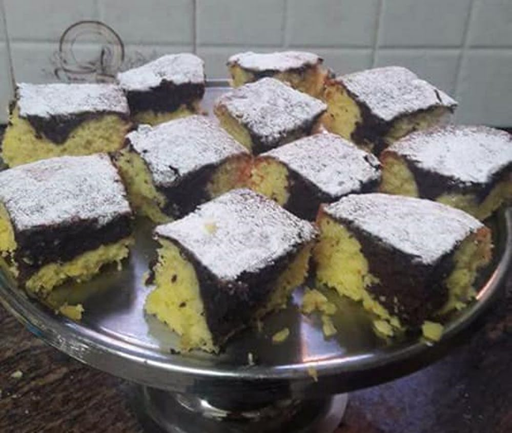 עוגת שיש רכה וטעימה קלה להכנה