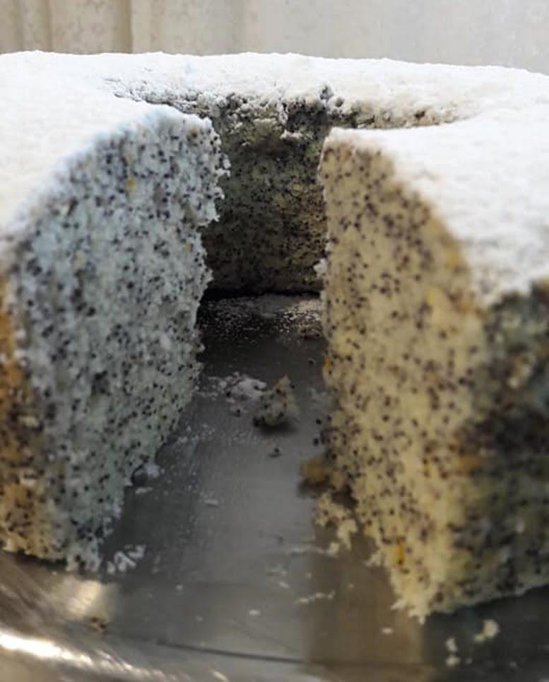 עוגת פרג פרווה – מאסטר מתכונים