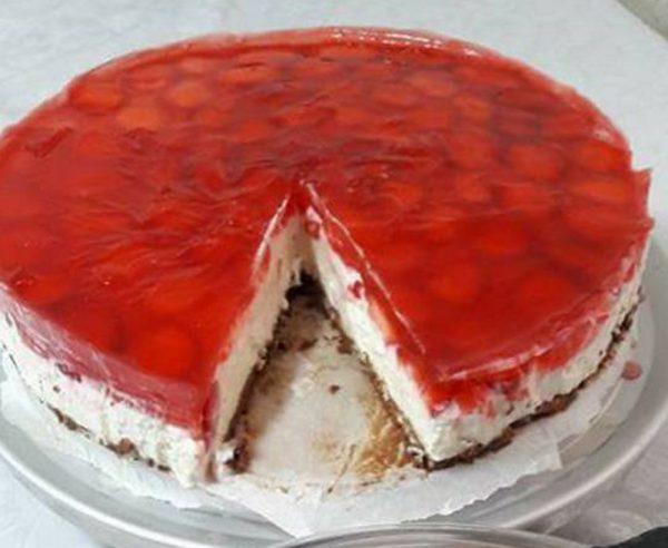 עוגת גבינה ללא אפיה כשרה לפסח וקלה להכנה
