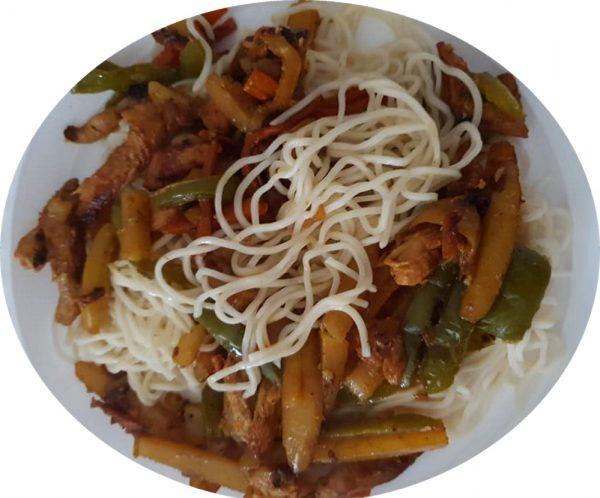 מוקפץ סיני – הכי טעים פצצה ארוחת צהריים
