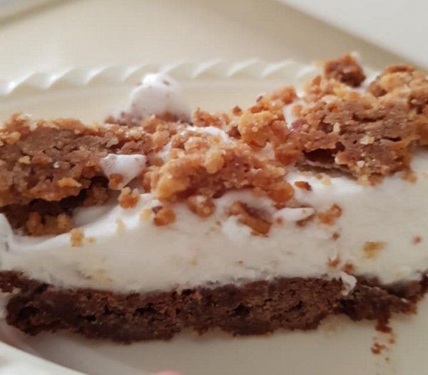 עוגת גלידתפיסטוק ושוקולד