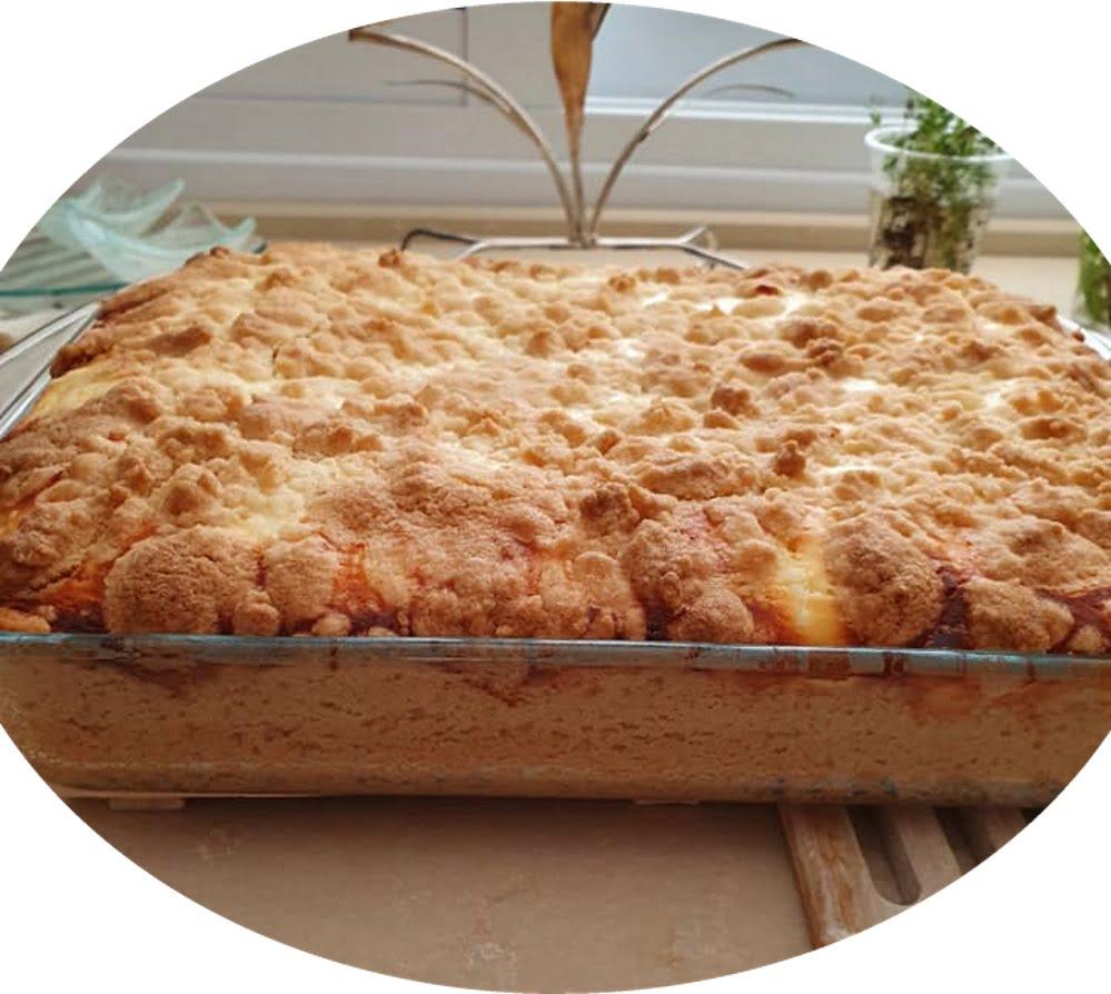 עוגת גבינה עם שטרויזל