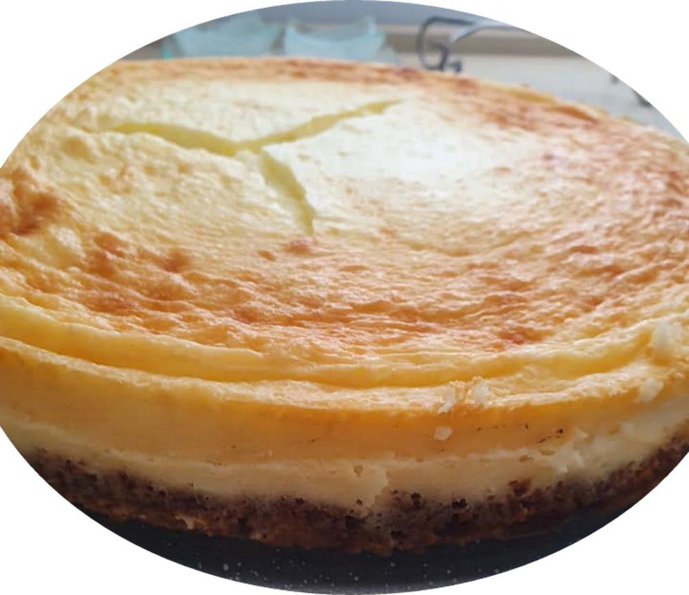 עוגת גבינה ניו יורק – עדינה כמו ענן כמו עוגה יפנית