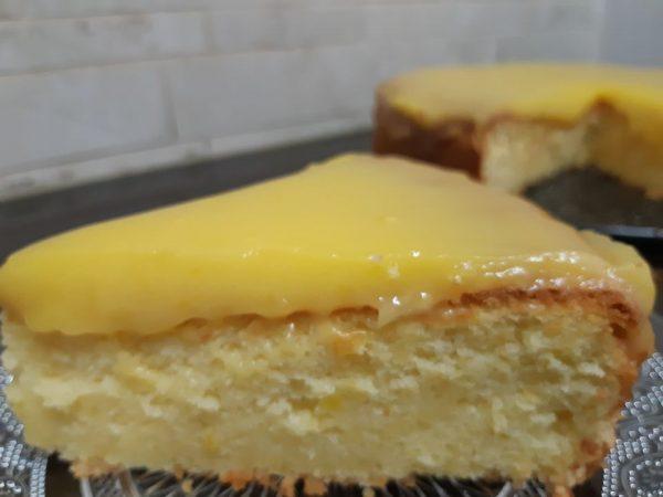עוגת שקדים עם קרם תפוזים פרווה כשרה לפסח