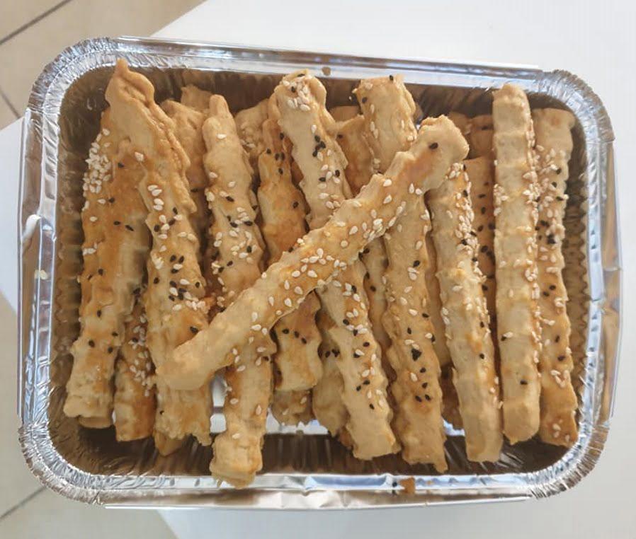 עוגיות מלוחות פריכות מאוד