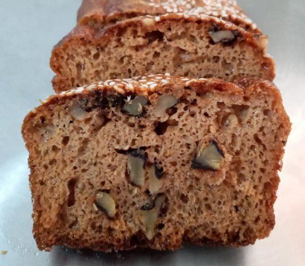 לחם כשר לפסח ללא גלוטן על בסיס טחינה וסילאן
