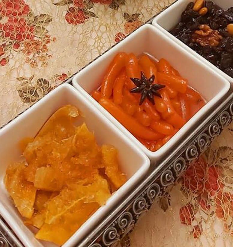 ריבת גזר …ריבת צימוקים ואגוזים… ריבת תפוזים