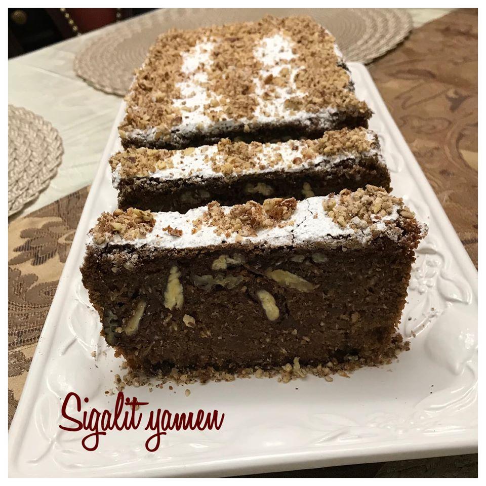 עוגת שוקולד פיקאן קוקוס כשר לפסח