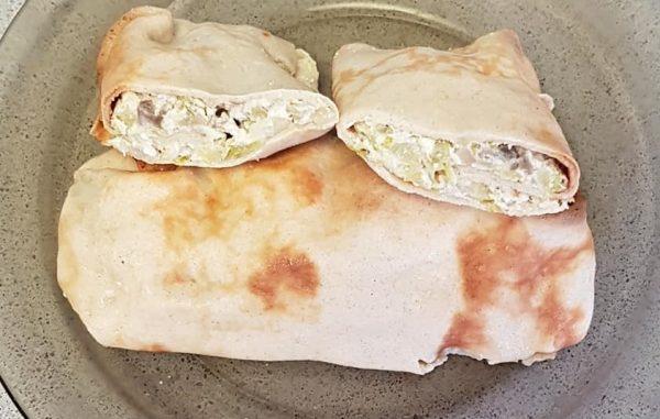 בליניצס במילוי גבינה וברוקולי