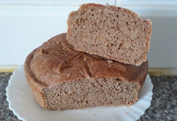 לחם כוסמין מלא…אפויי בסיר _ תהילה גיל