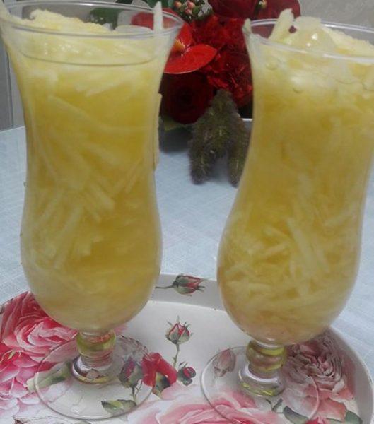 משקה תפוחים טעים ומרענן ב 10 דקות_יפה דודיאן