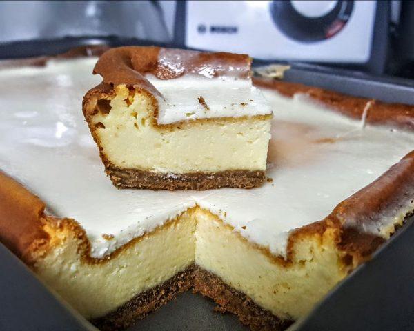 עוגת גבינה לימונית💛מעדןןןןןן