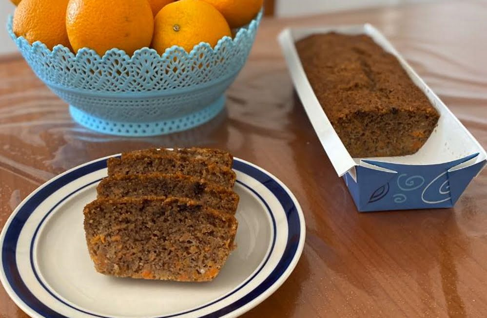 עוגת גזר נהדרת 🥕עם קמח כוסמין