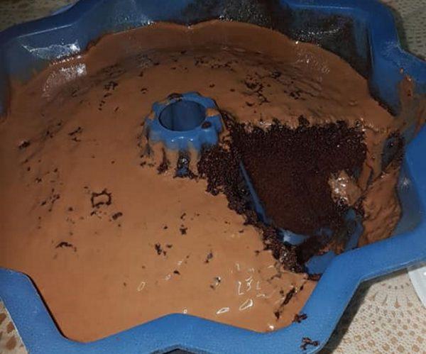 עוגת שוקולד במיקרו