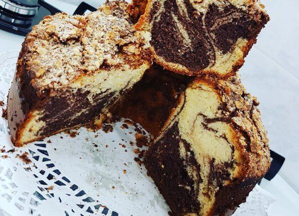 עוגת שיש בסיר פלא משומן_מתכון של כרמלה שמואל