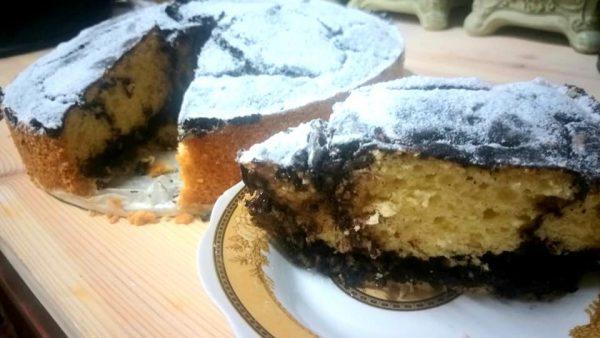 עוגת שיש קוקוס