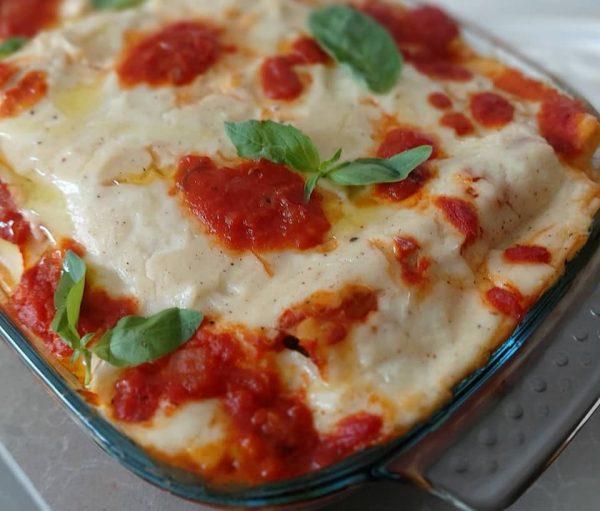 קנלוני במילוי גבינות וברוטב עגבניות ובשמל ♥️ אין טעם כזה_צופית כהן