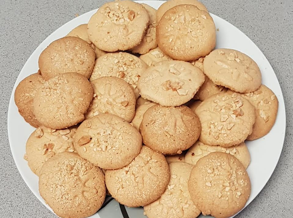 עוגיות בציפוי קשיו