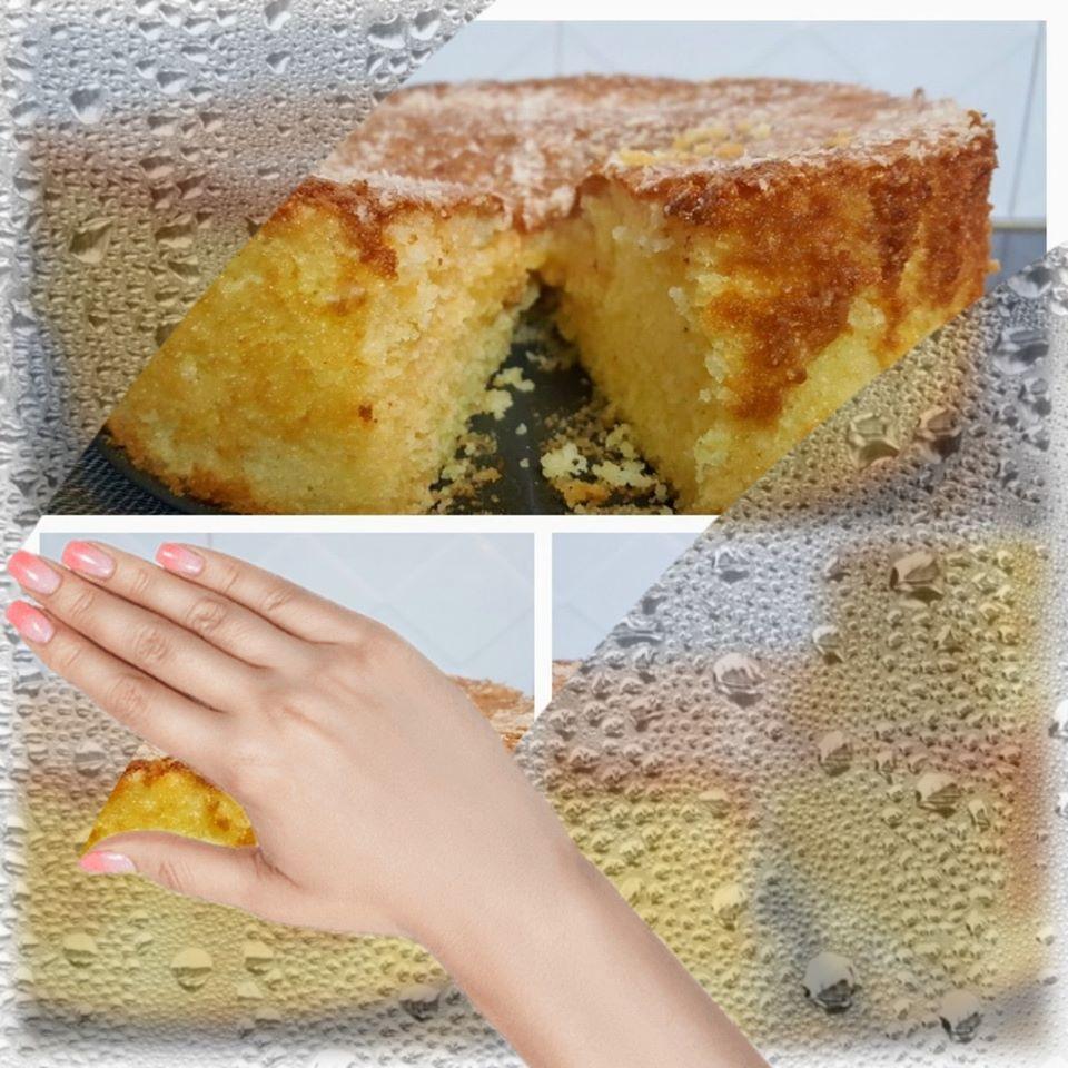 עוגת קוקוס תפוזים בחושה