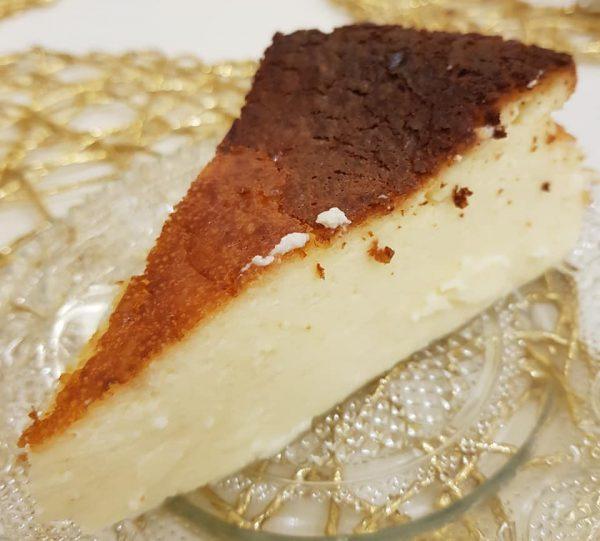 מתכון כתוב + סרטון המחשה להכנת עוגה באסקית מדהימה_נורית יונה