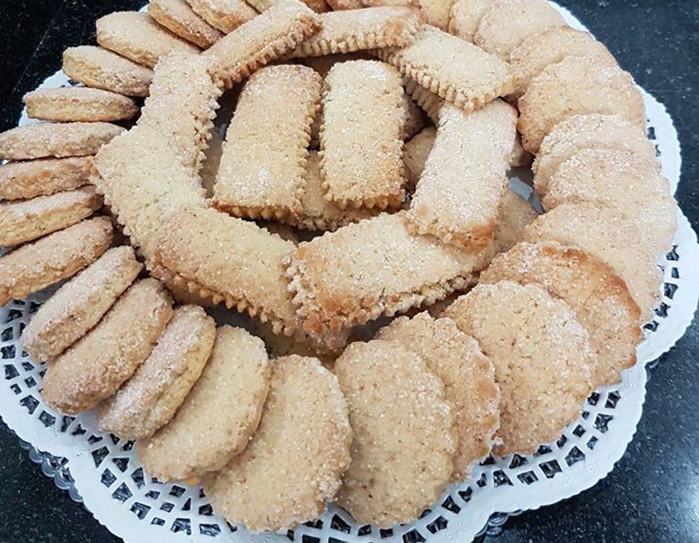 עוגיות עיראקיות חג'יבדה עם הל_כרמלה שמואל