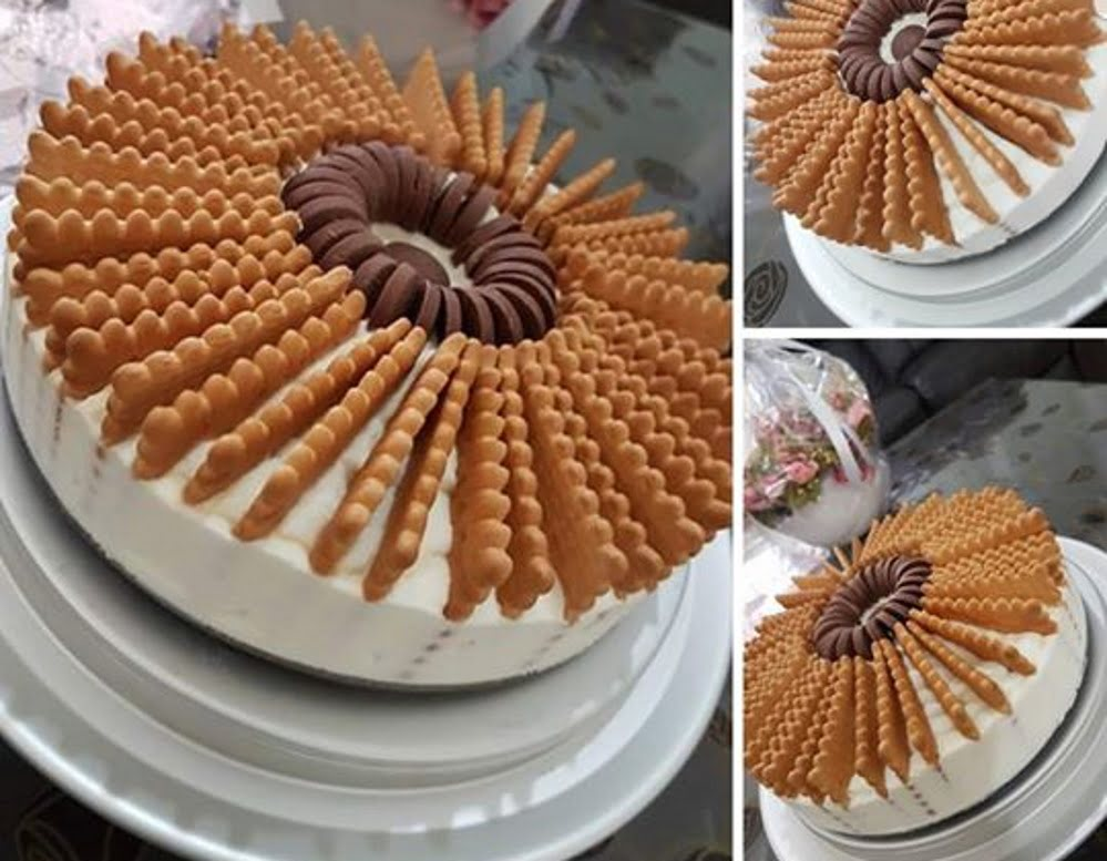 עוגת גבינה עם ביסקוויטים