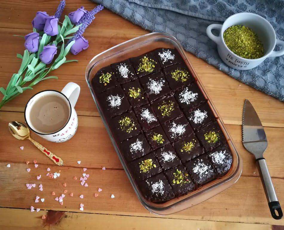 עוגת שוקולד בחושה ללא מיקסר