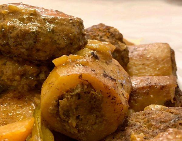 תפוחי אדמה במילוי בשר טחון