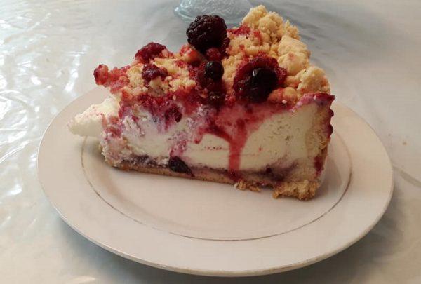 עוגת גבינה אירופאית אפויה….נפלאה
