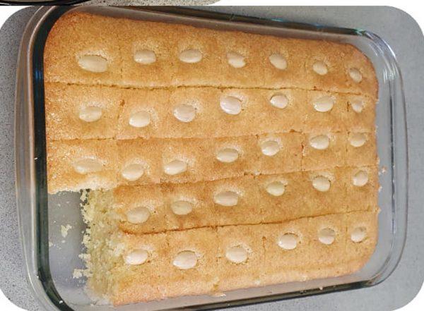 עוגת סולת ( בסבוסה )_יפה וקס ברקו