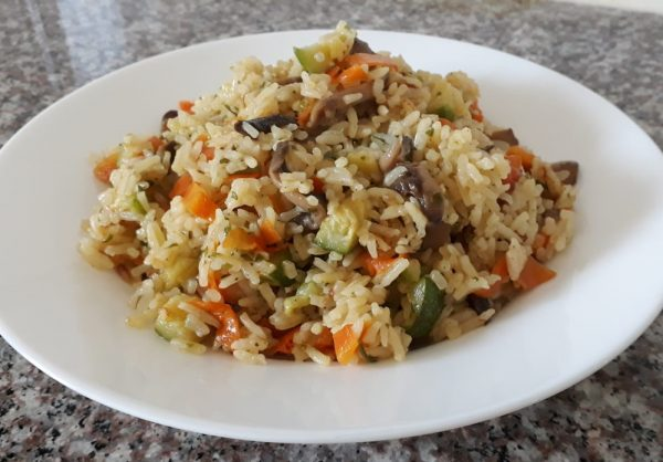 אורז ו….שאר ירקות , וטעים מאוד_תהילה גיל