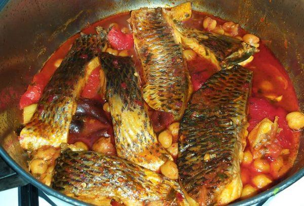 דגים עם חומוס_זהבה אבילחק