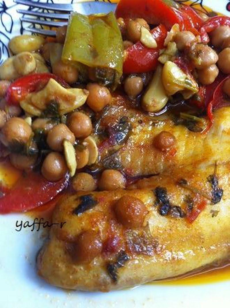 דג מפולפל עם חומוס_המטבח של יפה רייפלר מתכונים