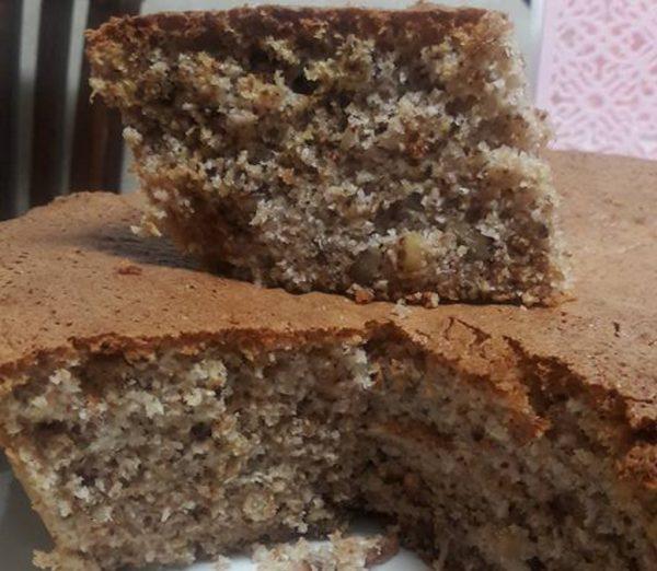 עוגת אגוזים קוקוס … כשרה לפסח_יפה דודיאן