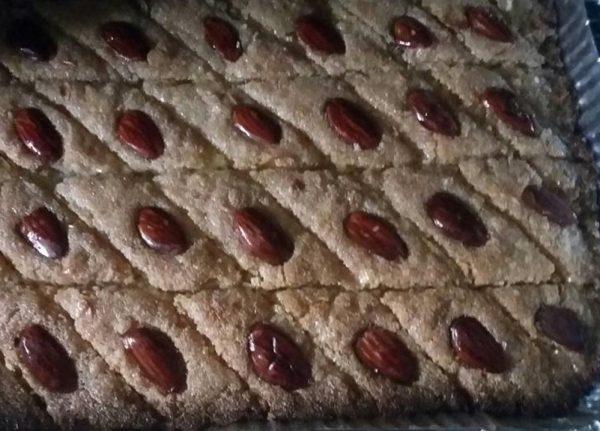 עוגת ספרה שקדים_המטבח של יפה רייפלר מתכונים