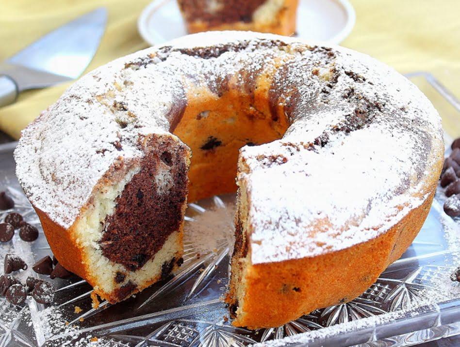 עוגת שיש בחושה עם שוקולד צ'יפס_מתכון של מדלן אביב