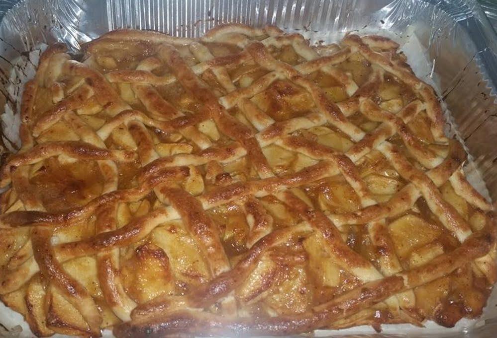 עוגת תפוחים לכבוד שבת קודש טעימה מאוד_זהבה אבילחק