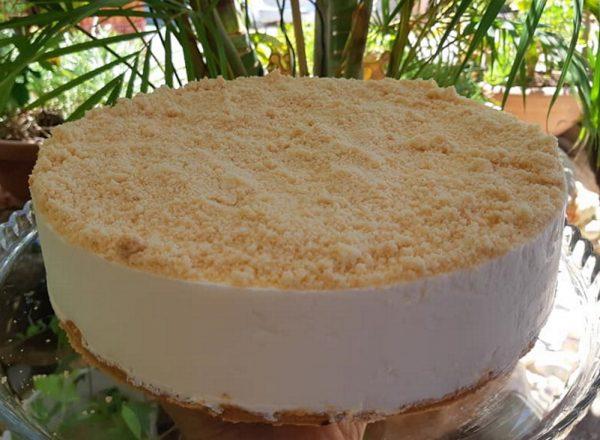 עוגת גבינה פירורים ללא גלוטן_אפרת מילוא טויטו