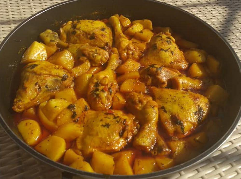 עוף עם תפוחי אדמה_עופרה מרציאנו