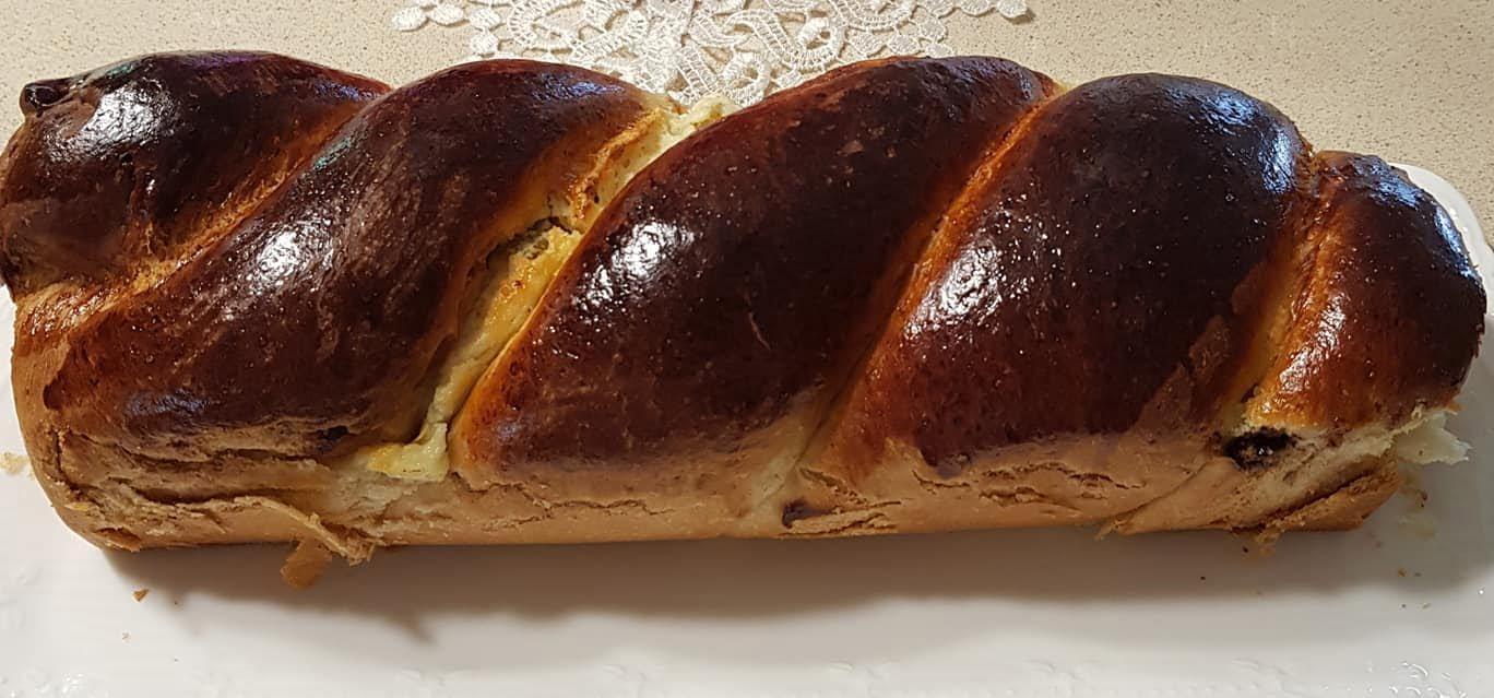 שמרים במלית גבינה וצימוקים , בצק חדש עם מרכיב מעניין , מעולה💕💕💕_נורית יונה