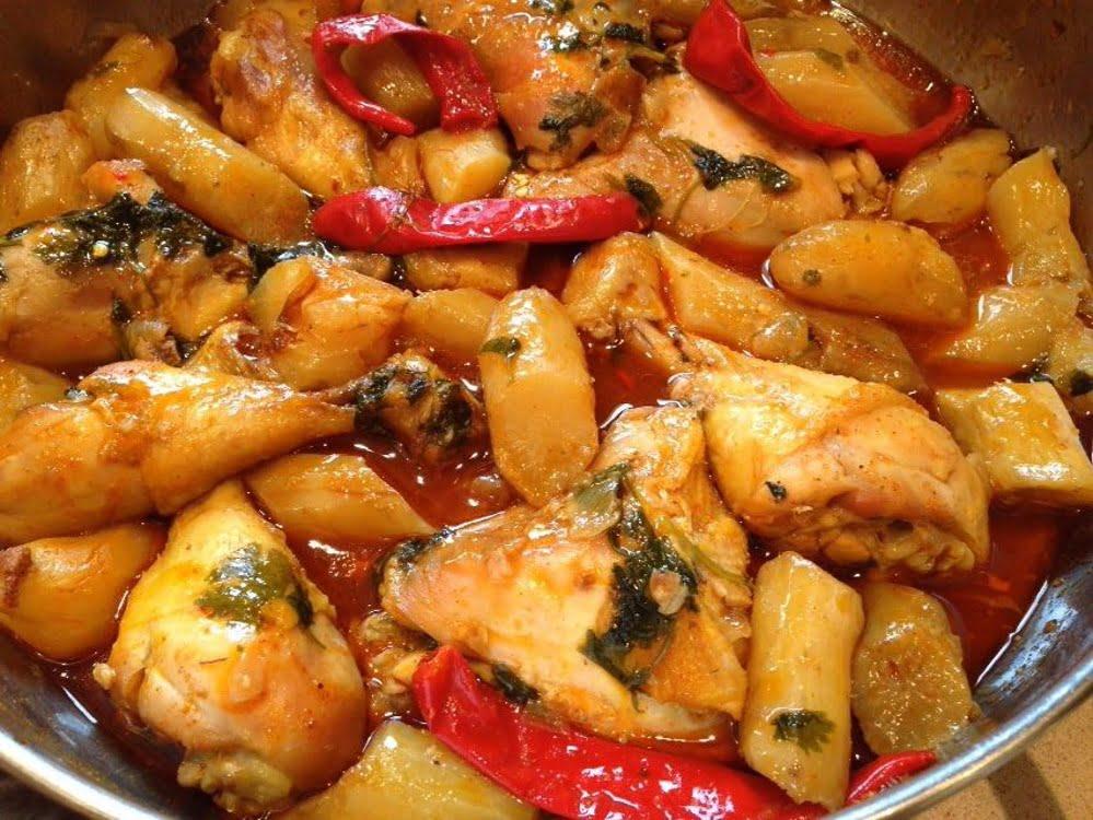 תבשיל עוף עם בטטה קסביה (ירושלמית) _עופרה מרציאנו